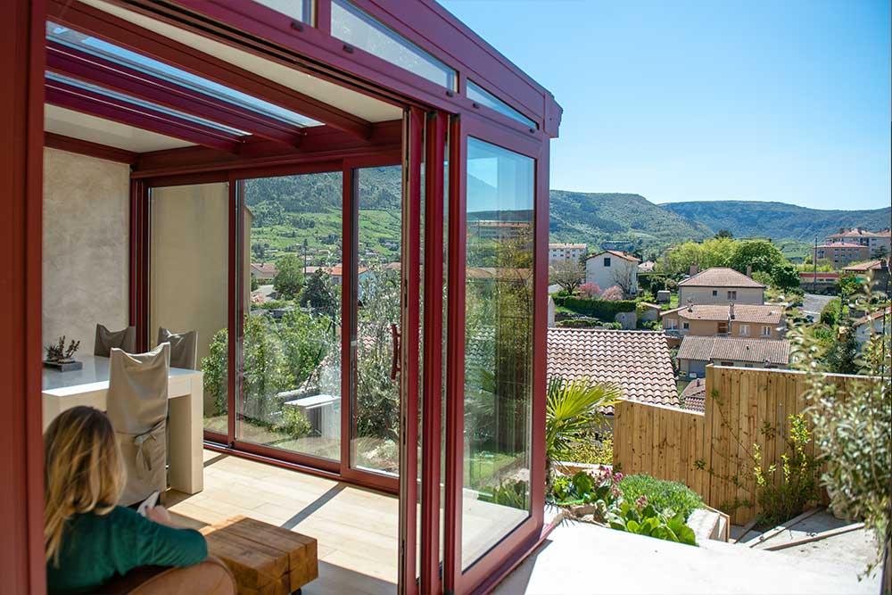 Vérandas Vias Alu en Aveyron