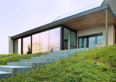 Extension de maison Vias Alu en Aveyron
